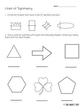 Lines Of Symmetry Symmetry Worksheets Symmetry Regular Polygon
