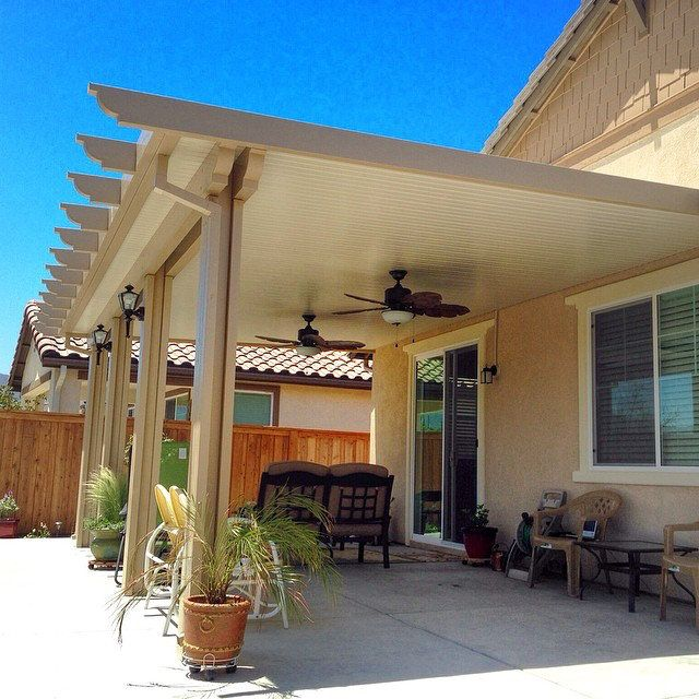 Pergola Off Of An Existing Covered Porch: DIY Alumawood Patio Cover Kits, Shipped Nationwide