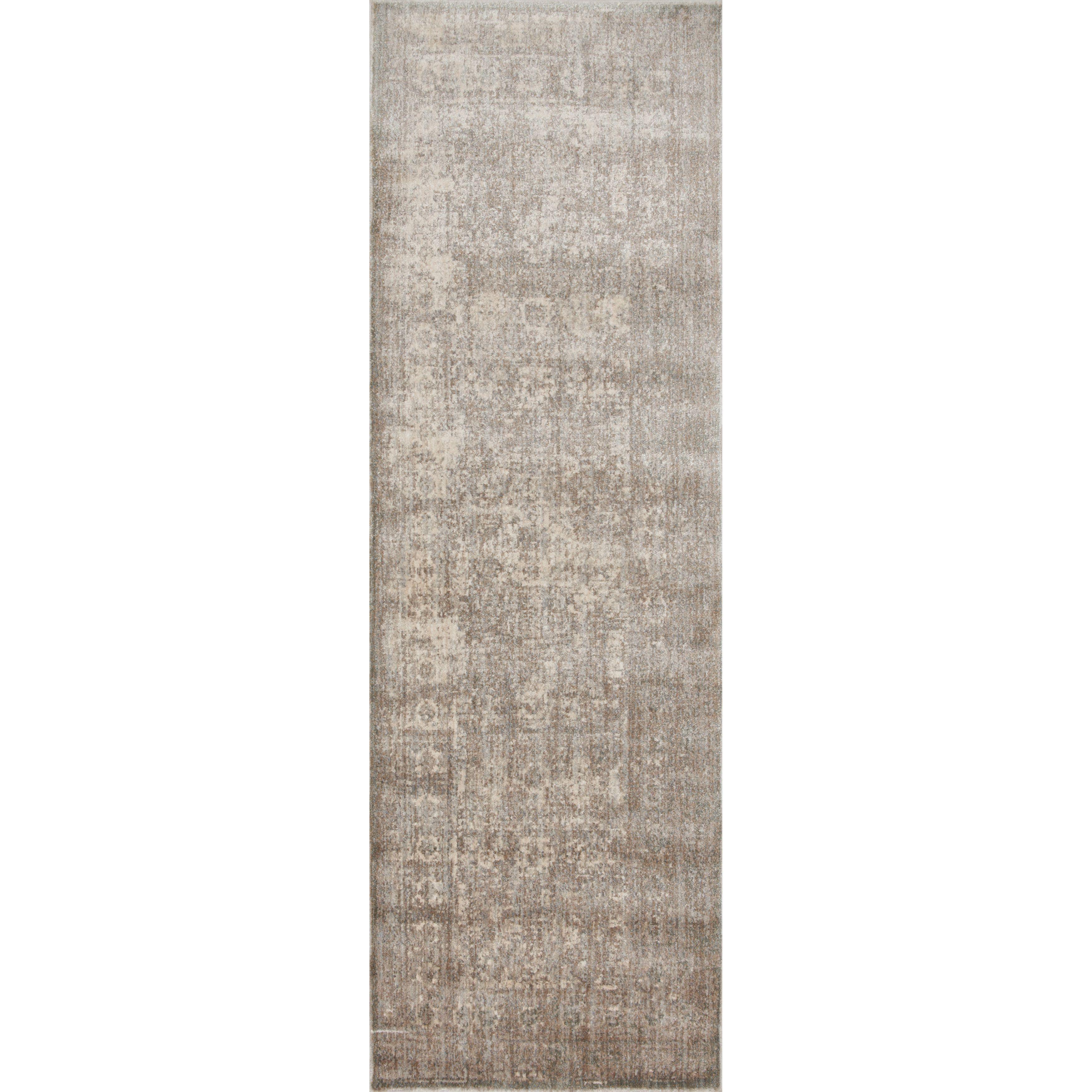 Alexander Home Contessa Grey/ Sage Runner Rug (2'7 x 8') (Grey/ Sage (2'7 x 8')), Size 2'7 x 8' (Polyester, Abstract)