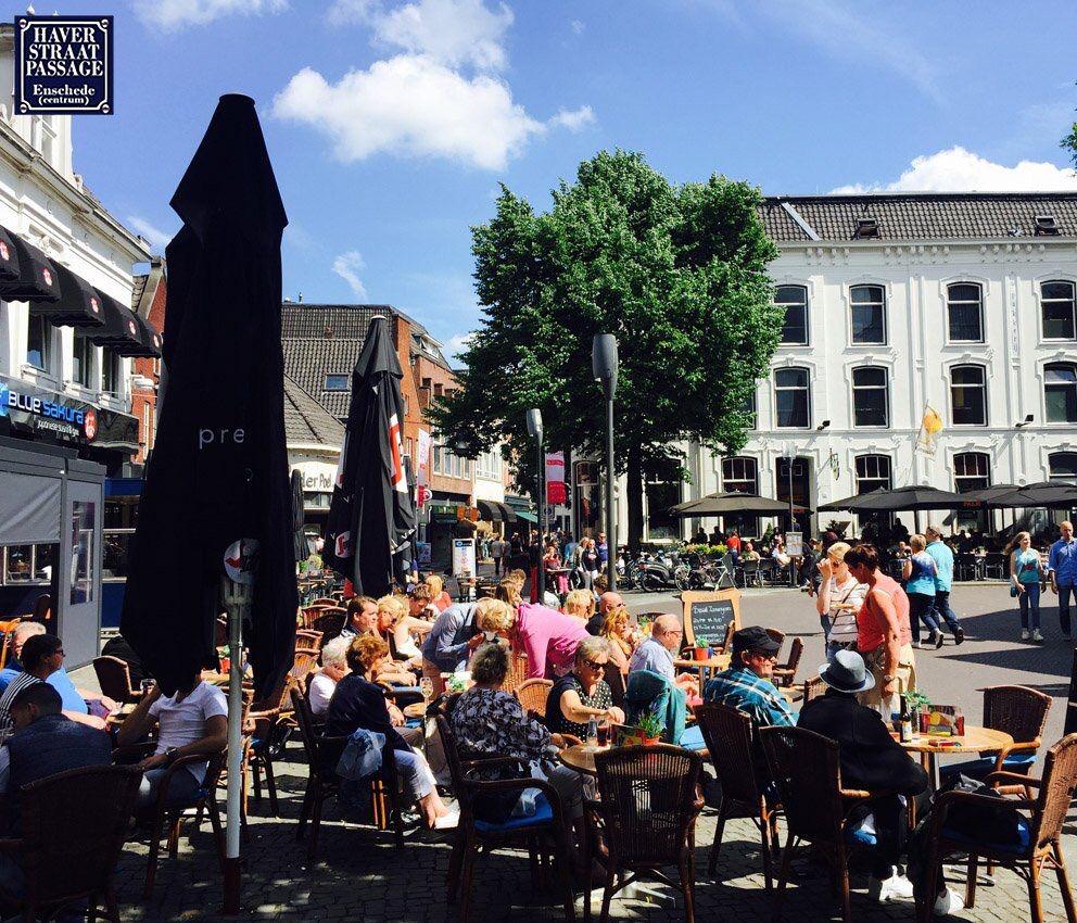 Het blijft vanavond nog lang warm! Kom nog even winkelen en terrasje pakken  Koopavond #Haverstraatpassage #Enschede