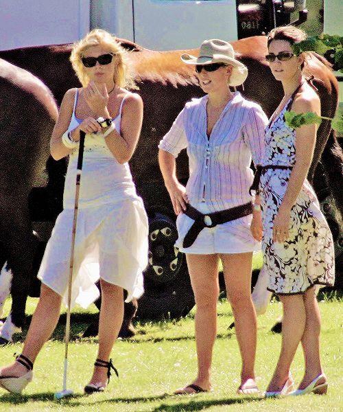 """Katemiddletons: """"Chelsy Davy, Zara Phillips And Kate"""