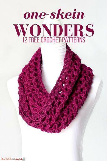One-Skein Wonders: 12 Free Crochet Patterns