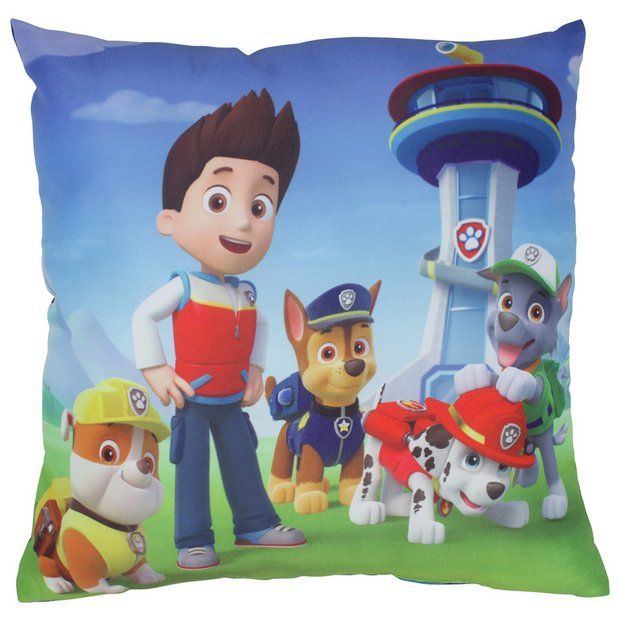 buy paw patrol rescue cushion at argos.co.uk - your online shop for