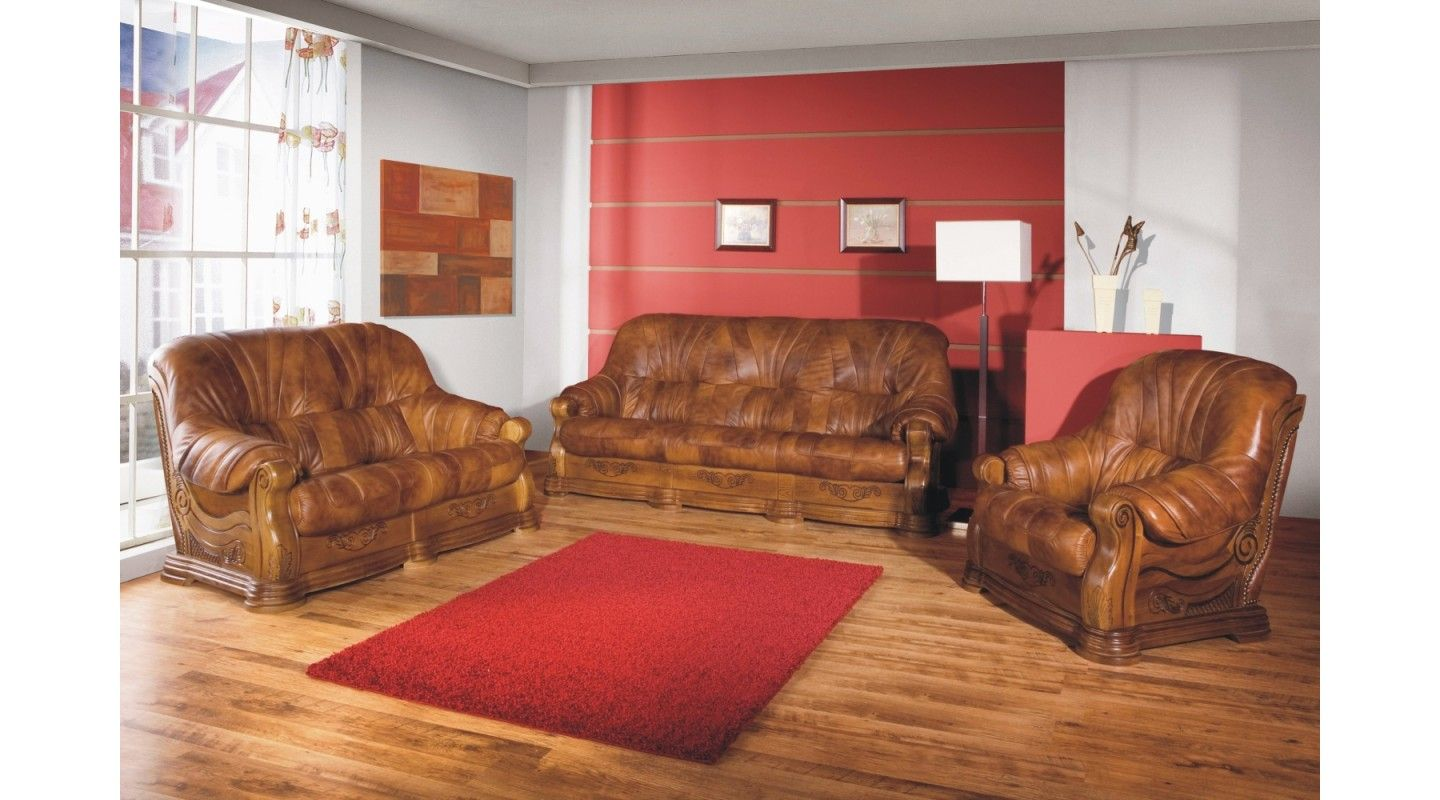 Sofagarnitur 3 2 1 Faron 3 2 1 Set Sofa Couch Echtleder Möbel Pinterest Sofa
