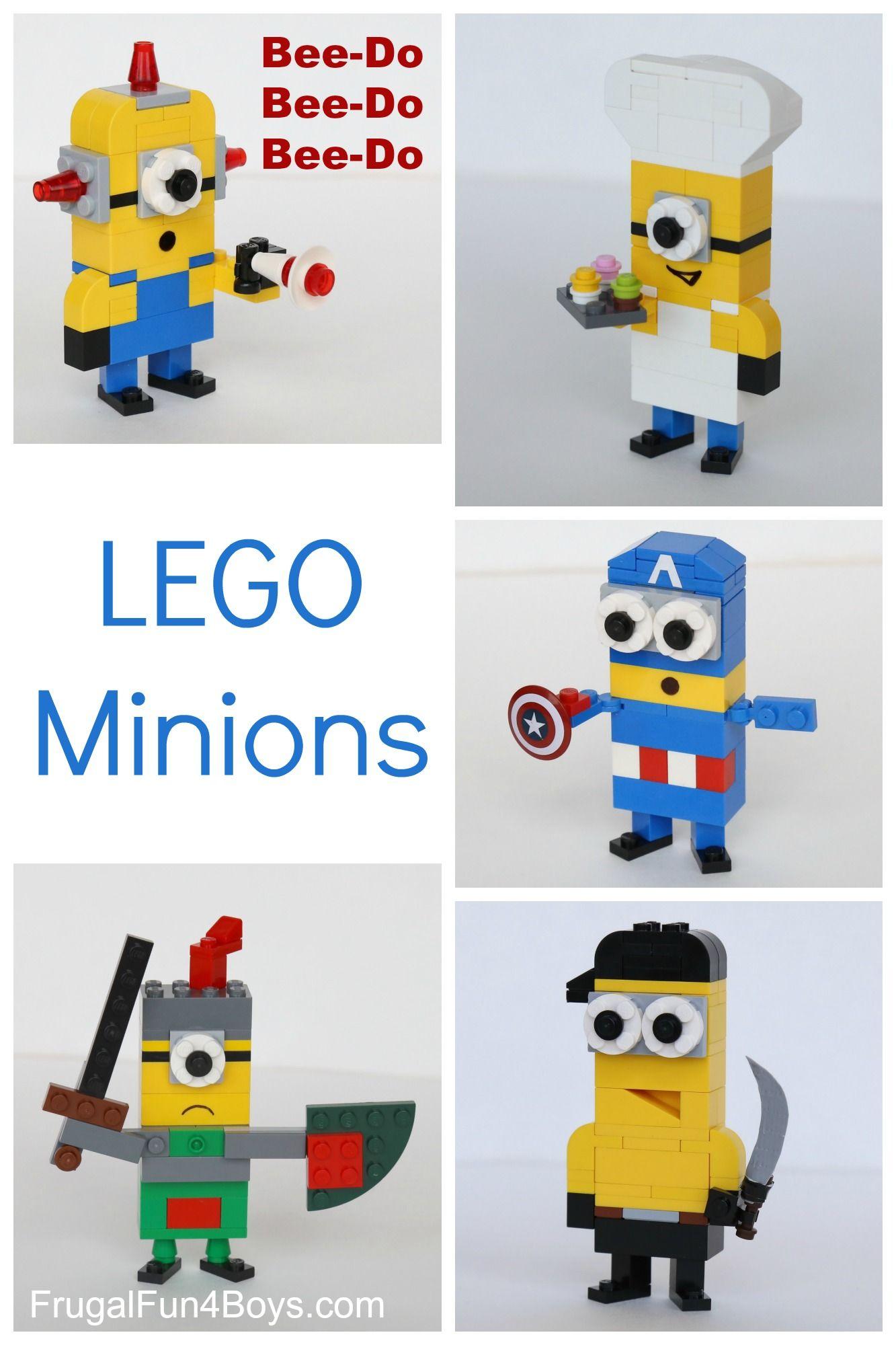 more lego minions to build! | pinterest | légo, lego et activité