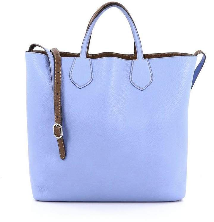 50128ae4ef2 Gucci Ramble Tote Large Light Blue Brown