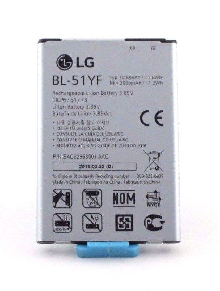 Lg Li Ion Battery >> Lg Oem Battery For Lg G4 Bl 51yf 3000mah Li Ion Rechargeable