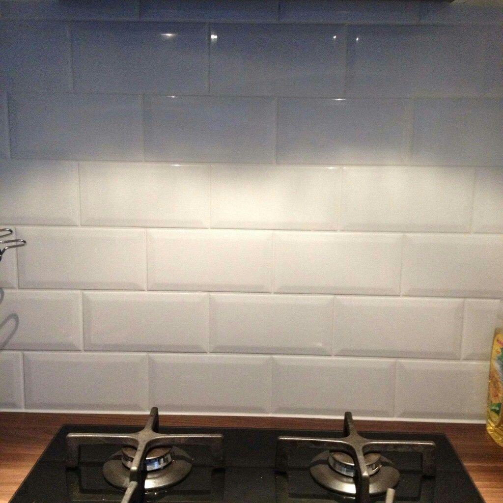 Keuken met metro tegels en led verlichting | Interieur | Pinterest