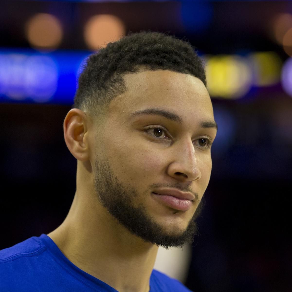 Look Missing Ad For Ben Simmons Jump Shot Posted Outside Barclays Center Ben Simmons Simmons Lou Williams