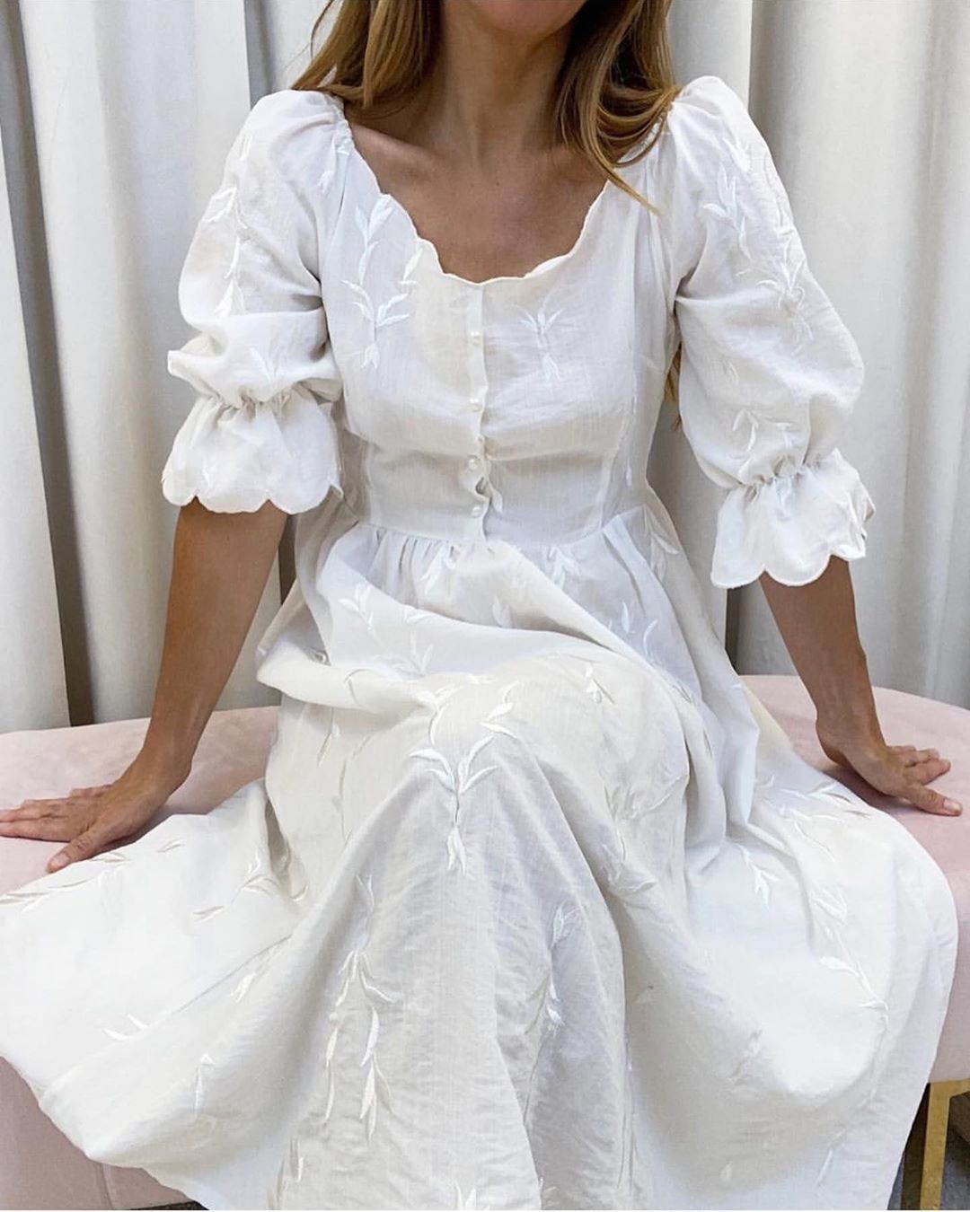 V I T A G R A C E On Instagram Summer Day Dresses Just Add Pretty Flats Sunshine Vitagrace Summer Day Dresses White Dress Cottagecore Fashion [ 1350 x 1080 Pixel ]