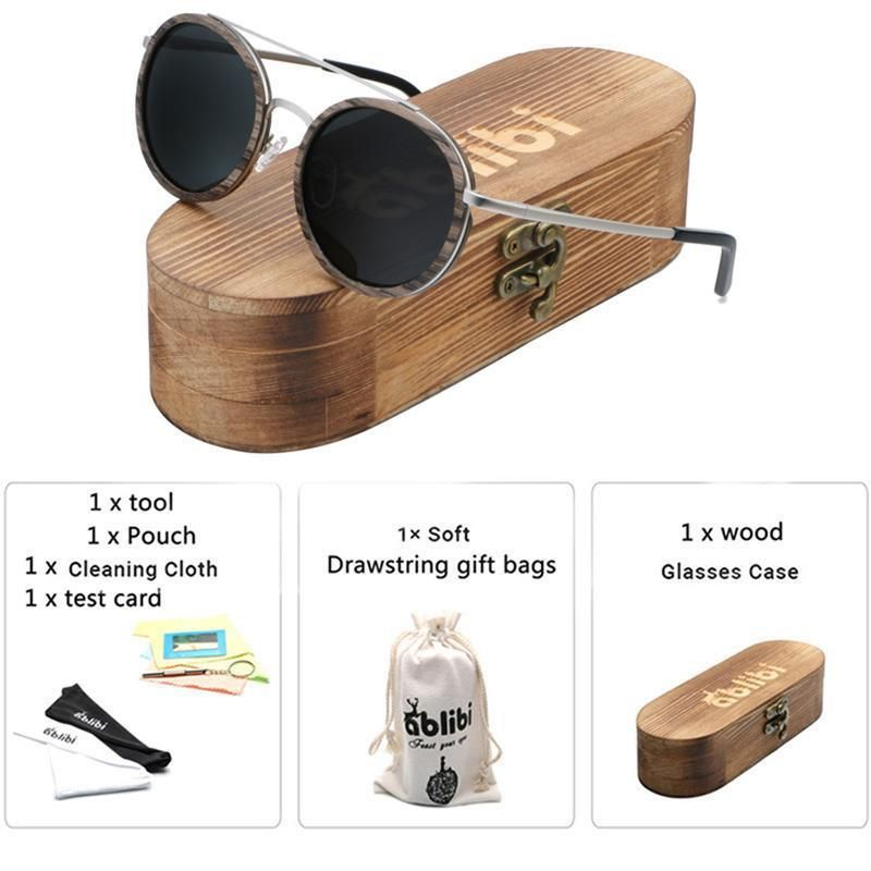 bcb3a88f6 Ablibi Wooden Bamboo Sunglasses with Polarized UV400 Lenses #polarized  #UV400 #travel #sunglasses #bamboo #outdoorfashion #retro #stylish #camping  #hiking