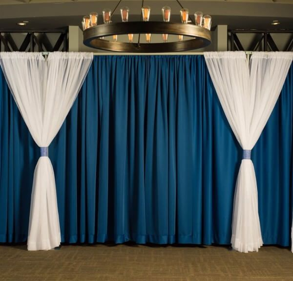 Diy Drapes For Wedding: Pipe And Drape Backdrop Kit