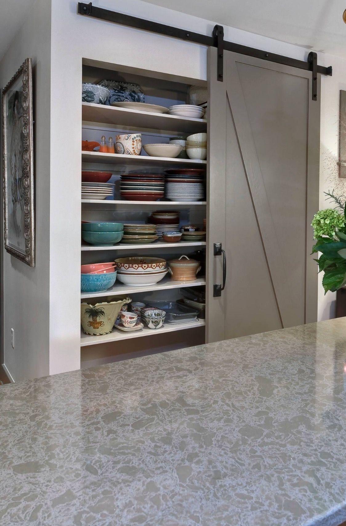 Pantry With Barn Door Love This Houzz Design Repair Remodel