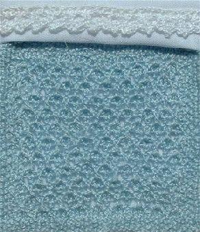 Free Miniature Cot Blanket Pattern | Miniature knitting ...