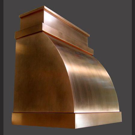 Copper Range Hood