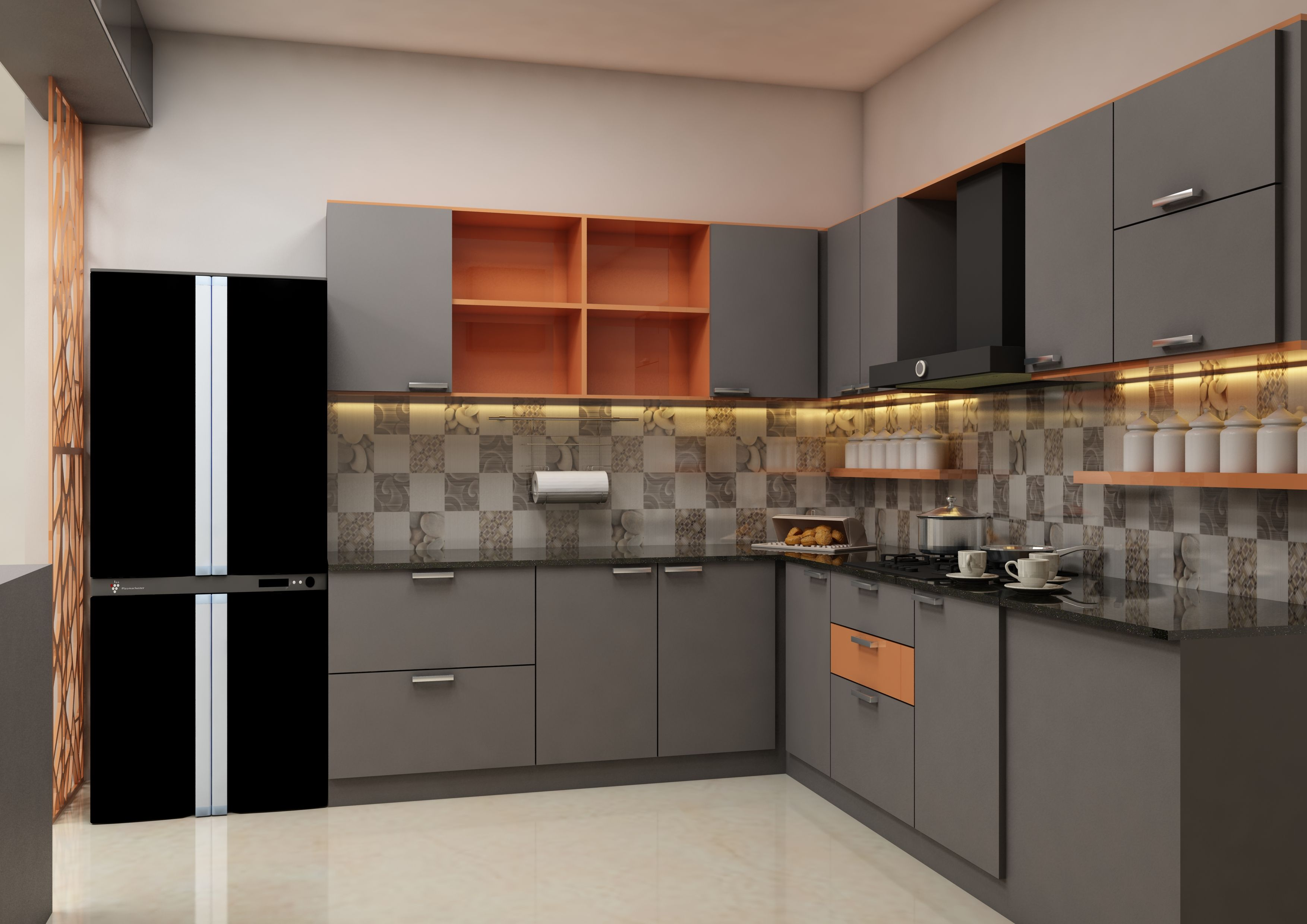 Make This Kitchen Unit Yours By Customizing The Same From Scale Inch At The Best Price. For M… | Kitchen Furniture Design, Interior Design Kitchen, Kitchen Interior