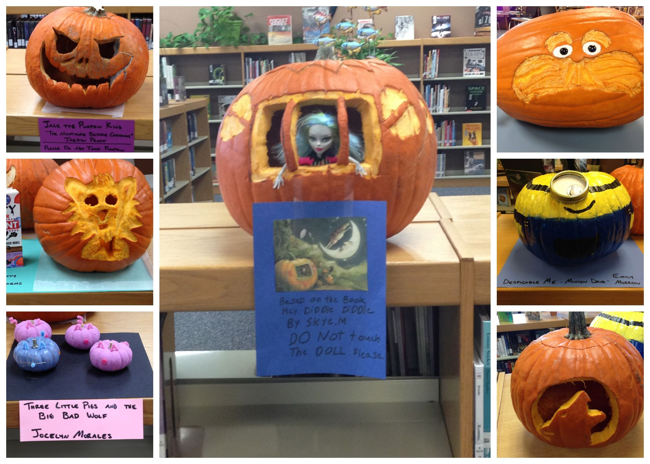 La Pine Middle School Pumpkin Contest Create A Book
