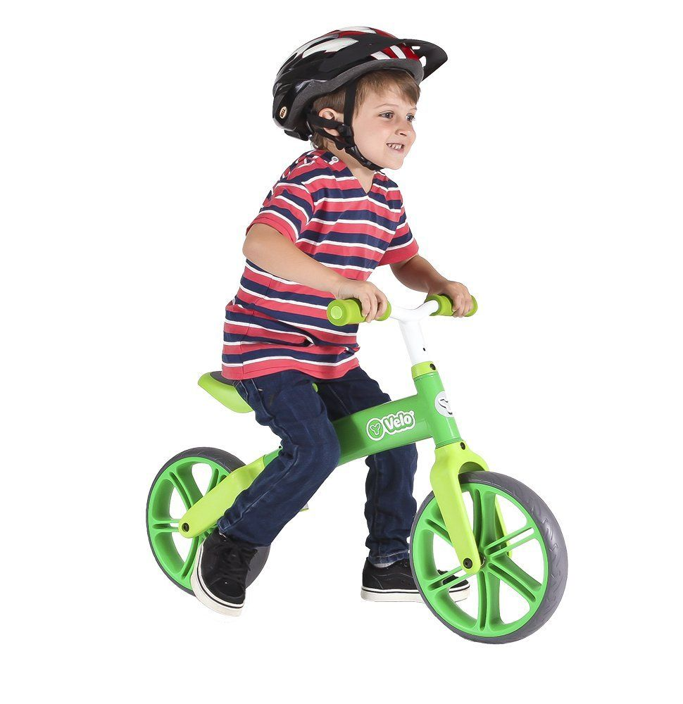Yvolution Y Velo Senior Green Balance Bike One Size More Info
