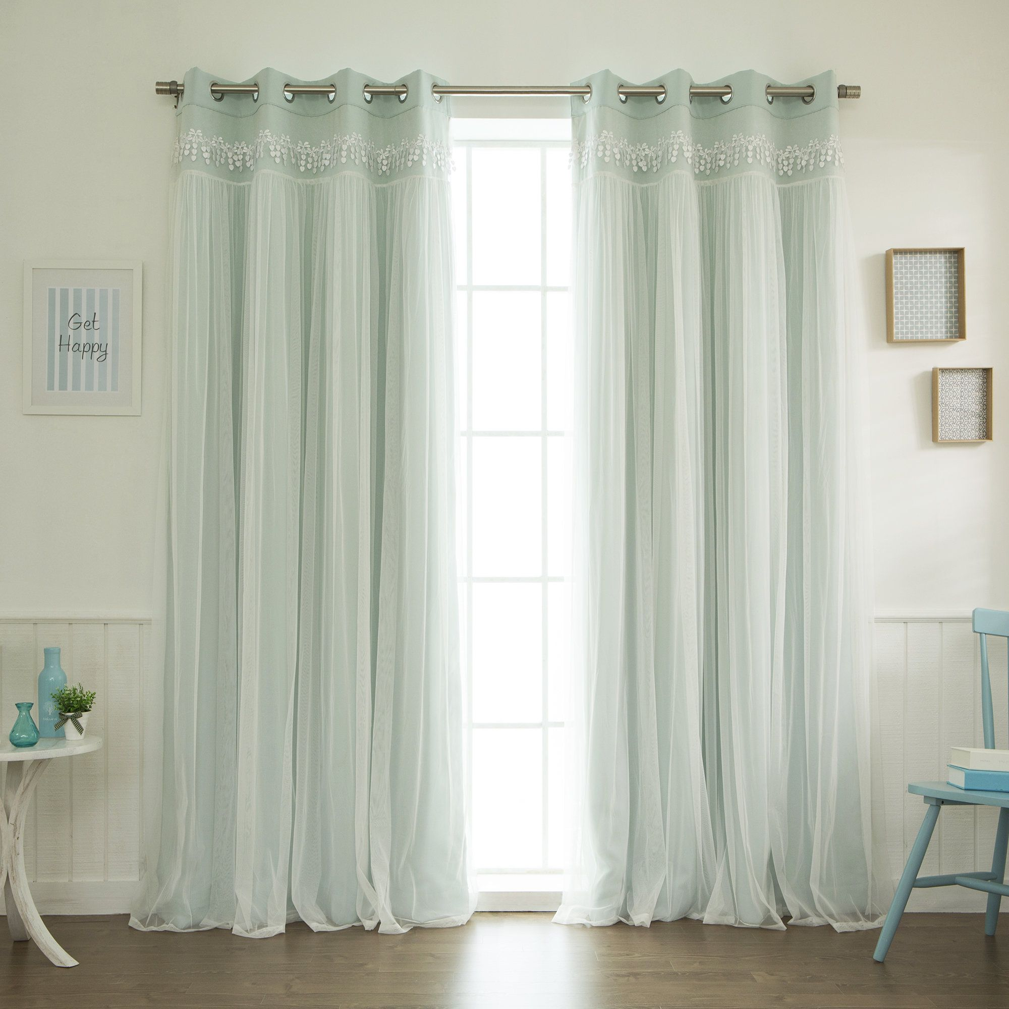 curtain blackout mainstays energy efficient panel rods x dimensions curtains set with pink grommet rod
