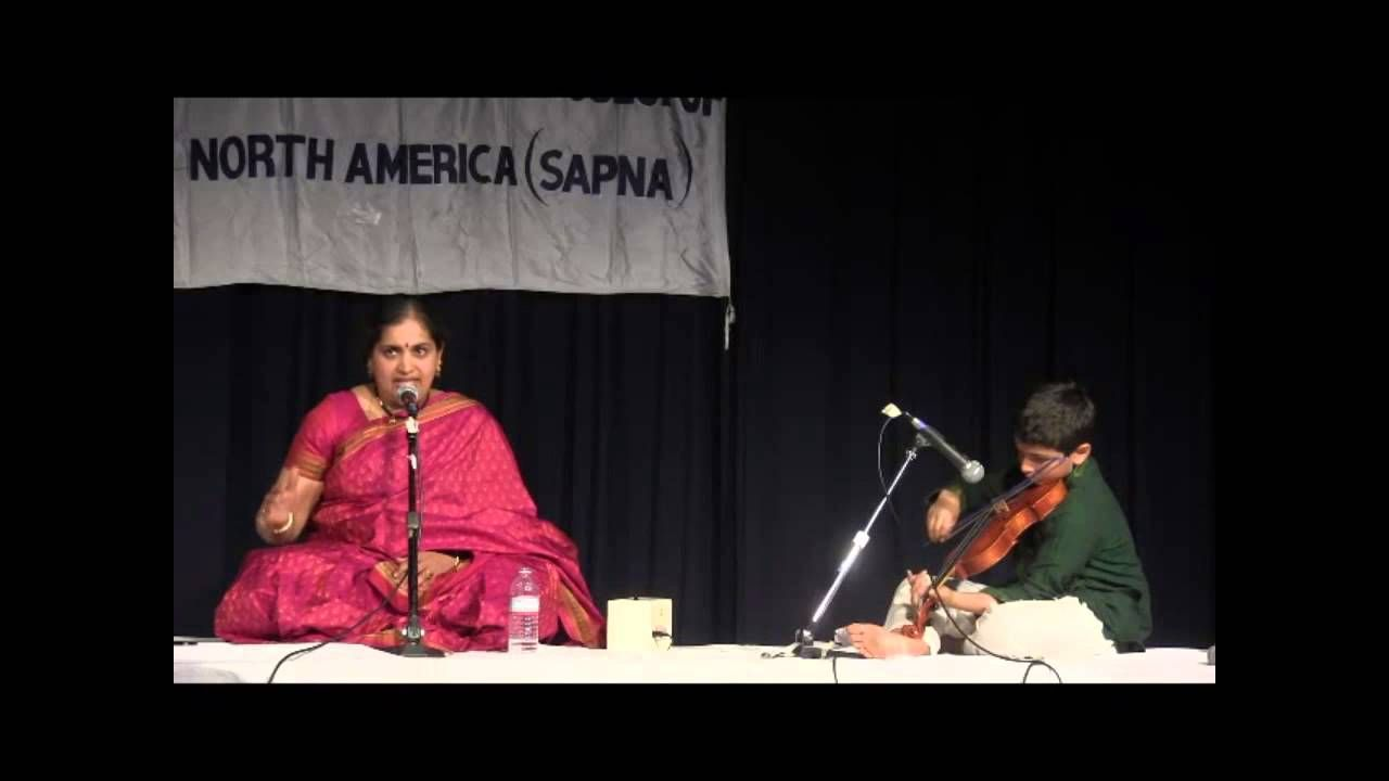 SAPNA: ANNUAL EVENT 2014: FEATURED CONCERT: VANITHA SURESH: KRITHI 2