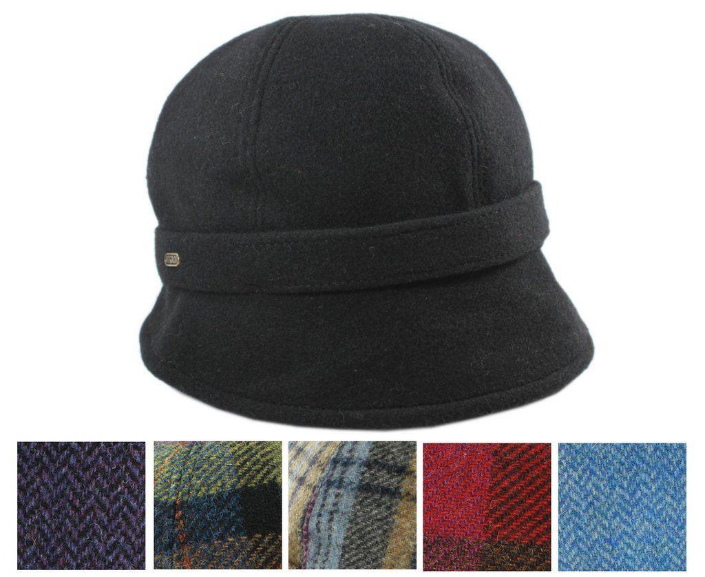Ladies Irish Hat Flapper Style 100% Wool 3c35295351ac