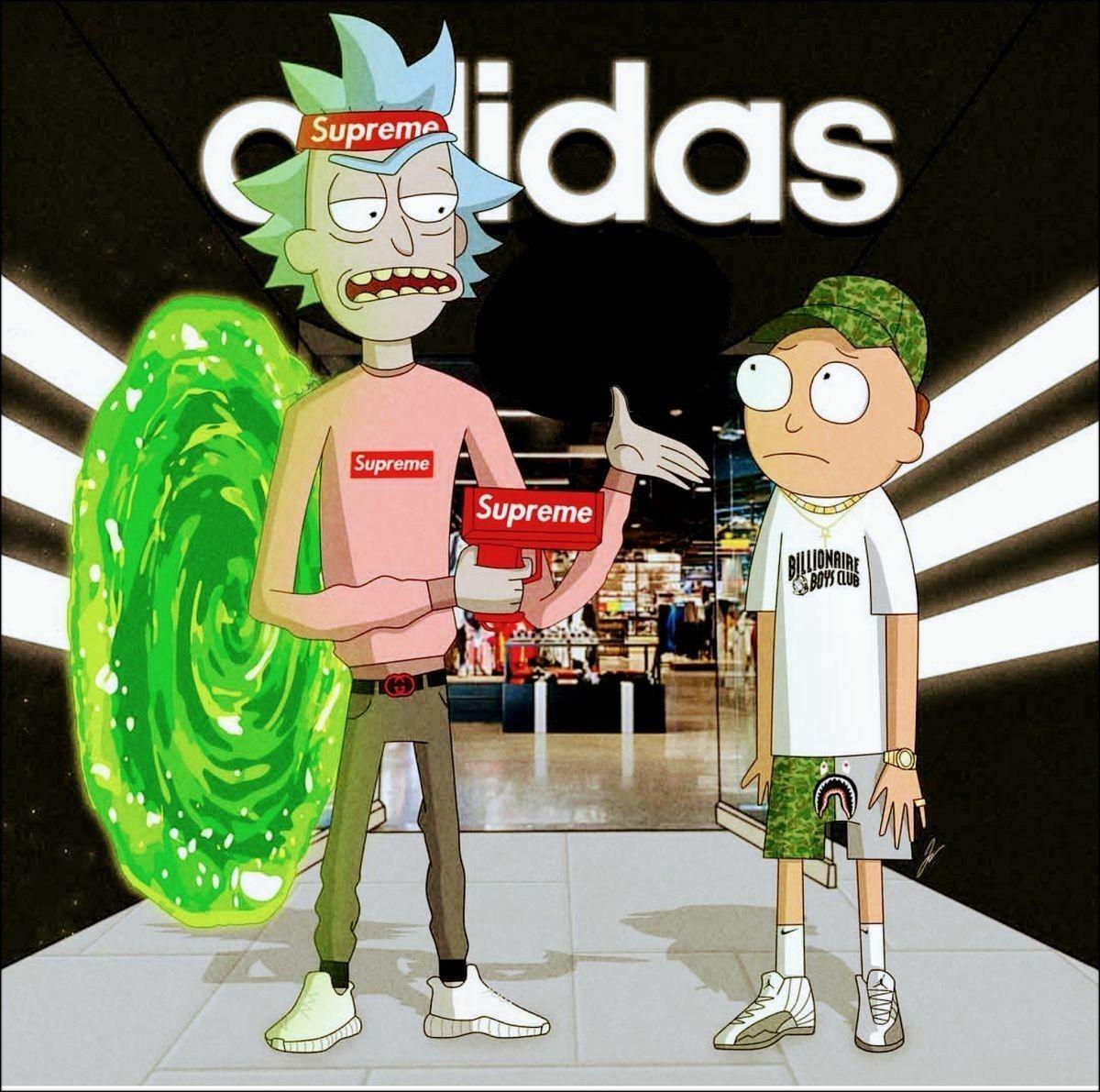 Rick And Morty Supreme Rick I Morty Morty Rick And Morty