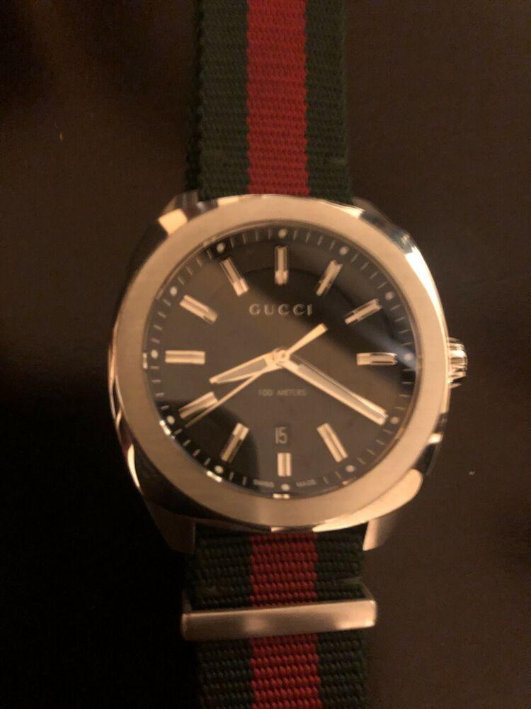 e90da19852f gucci watch men used