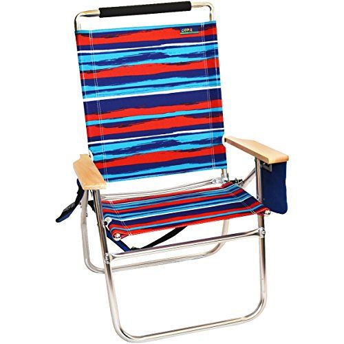Introducing 18 High Seat Big Tycoon Beach Chair Bora Stripe Great Product And Follow