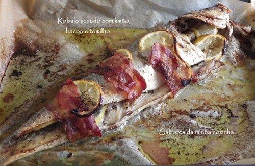 IMGP3572-Robalo assado com limão, bacon e tomilho