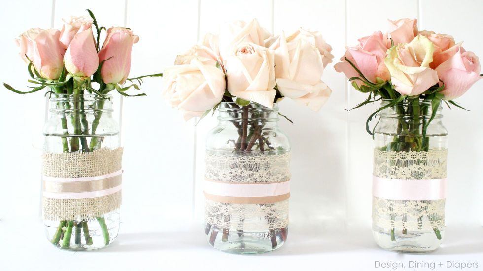 These Colorful Easter Crafts Will Bring Your Home To Life Flower Arrangements Wedding Diy Flower Arrangements Diy Centerpieces Shabby Chic Vases