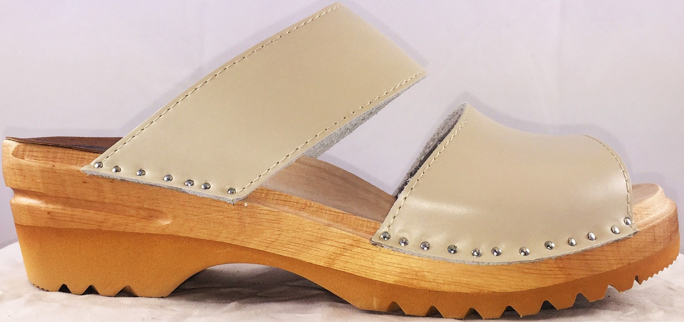 b888b12b4bcf Backless Clog Sandal - Karin in Nude https   superiorclogs.com product
