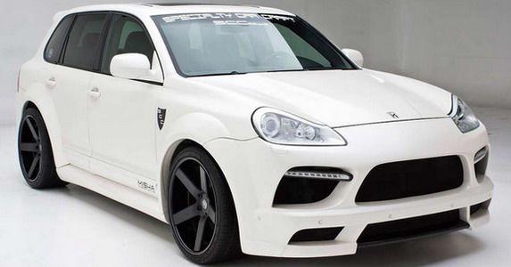 Misha Designs Porsche Cayenne GTM