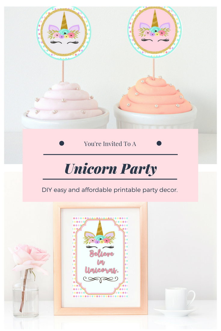 Everything you need for a magical unicorn birthday party! Find ...