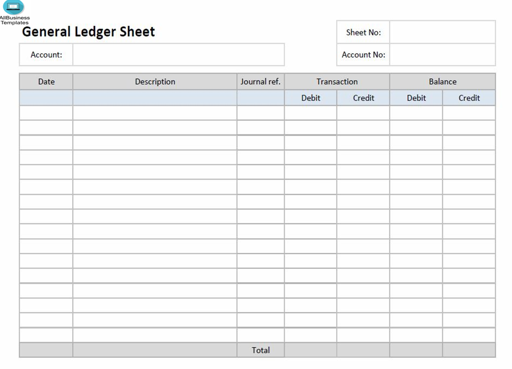 Account Ledger Template Excel from i.pinimg.com