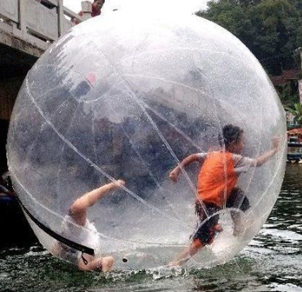 Walk On Water Ball Asked The Wife If She D Like To Do This From