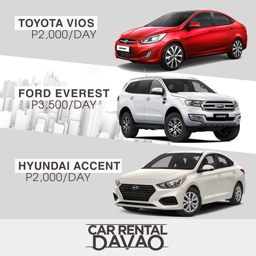 Discover Davao By Renting A Car Toyota Vios Car Car Rental