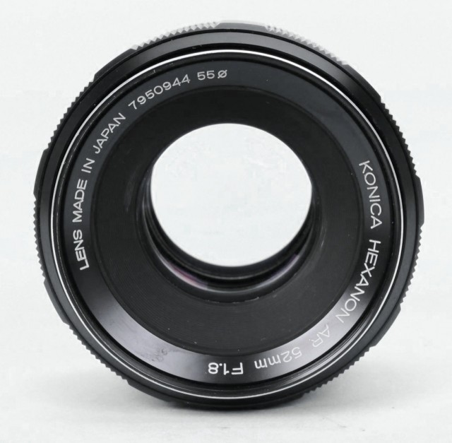 Konica Hexanon (AR) 52mm F/1.8   LENS-DB.COM