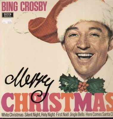 Bing Crosby Christmas Album.Vintage Christmas Record Album Merry Christmas Bing