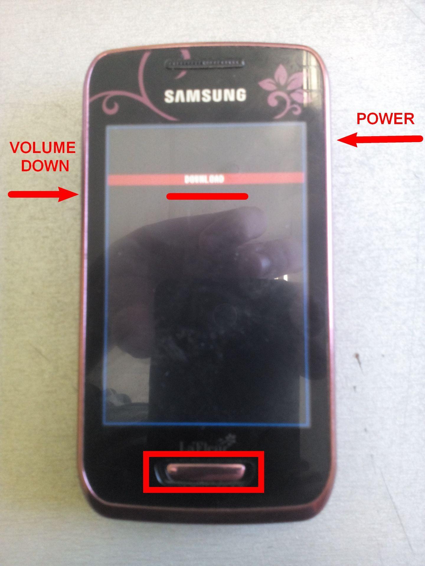 Прошивка Samsung GT S5380f