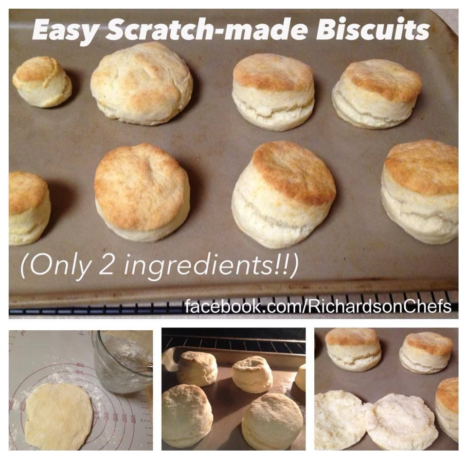 Main Ingredient Recipes: 2 Ingredient Biscuits!! Find This Recipe And More At Www