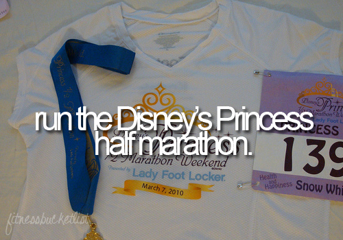 Princess Half Marathon... Why have I never heard of this?!