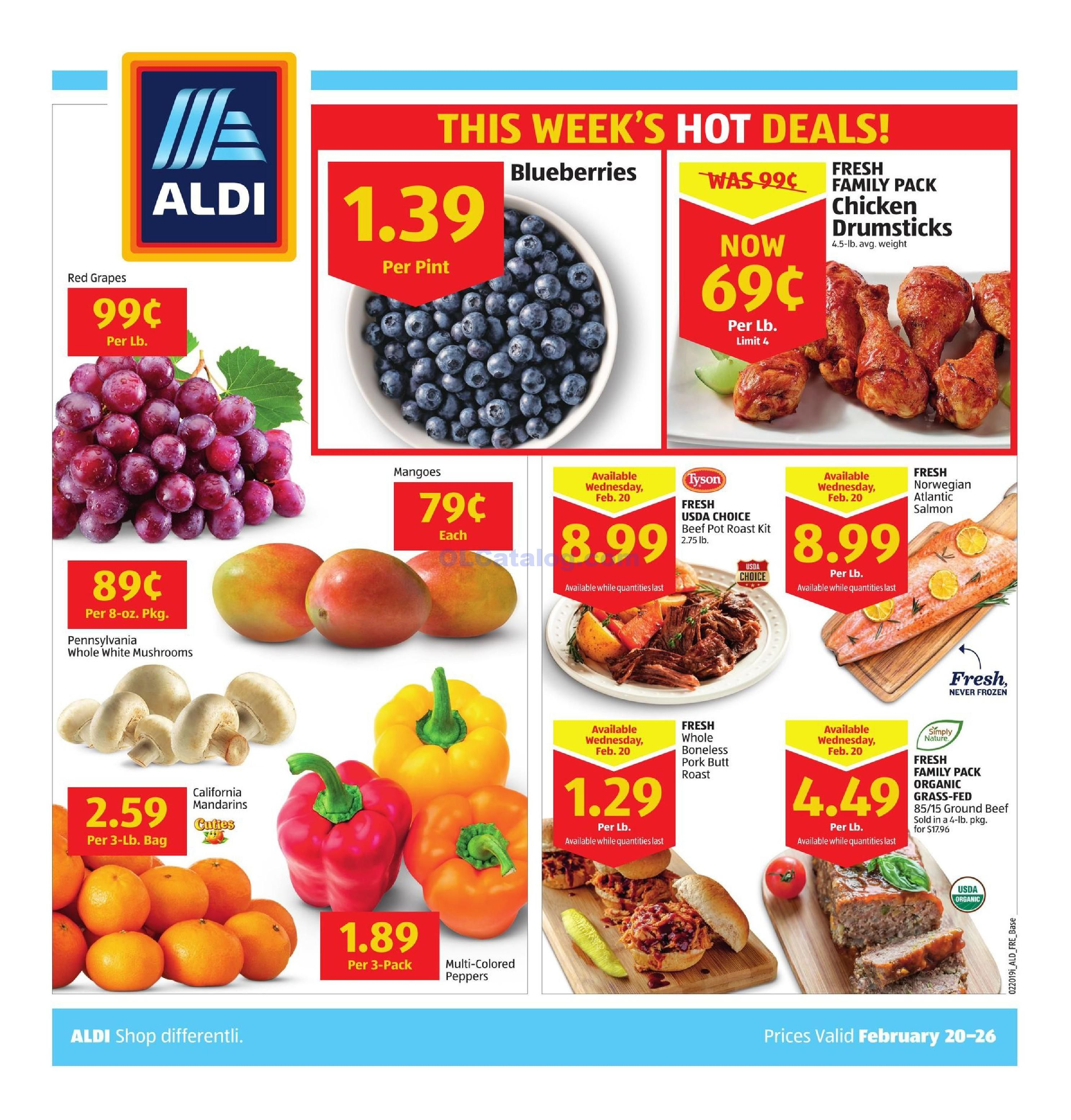 Aldi Flyer 03 22 20 03 28 20 In Store Ad Sneak Peek Preview