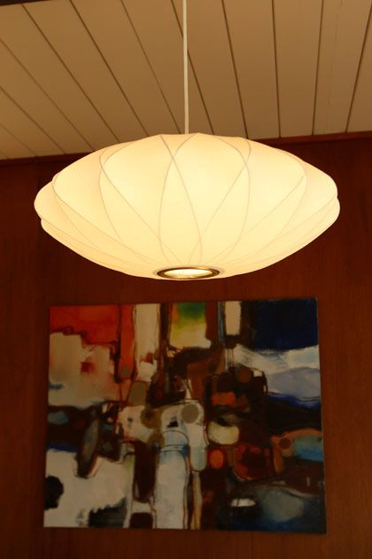 Eichler House Nelson Bubble Lamp White Pendant Light Lights