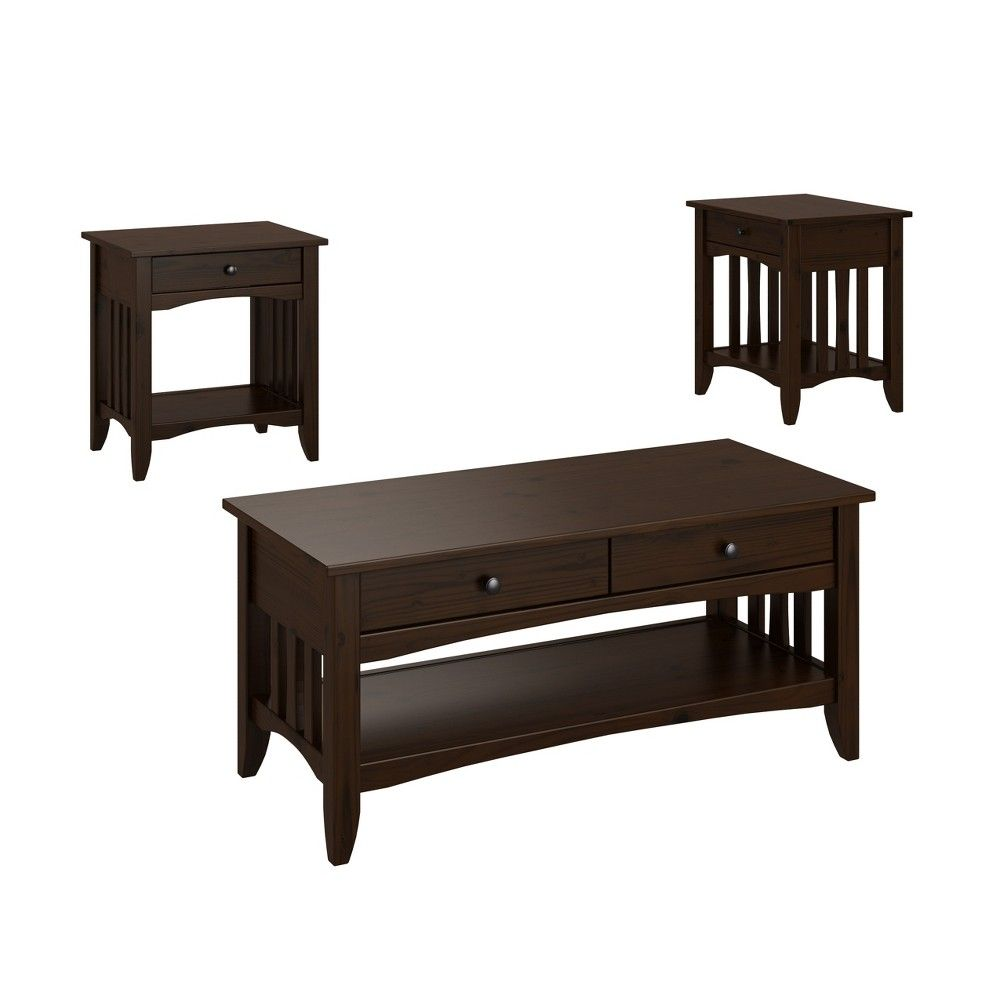 3pc Crestway Solid Wood Coffee Table Set With Drawers Espresso Brown Corliving Solid Wood Coffee Table Coffee Table Wood Target Coffee Table [ 1000 x 1000 Pixel ]