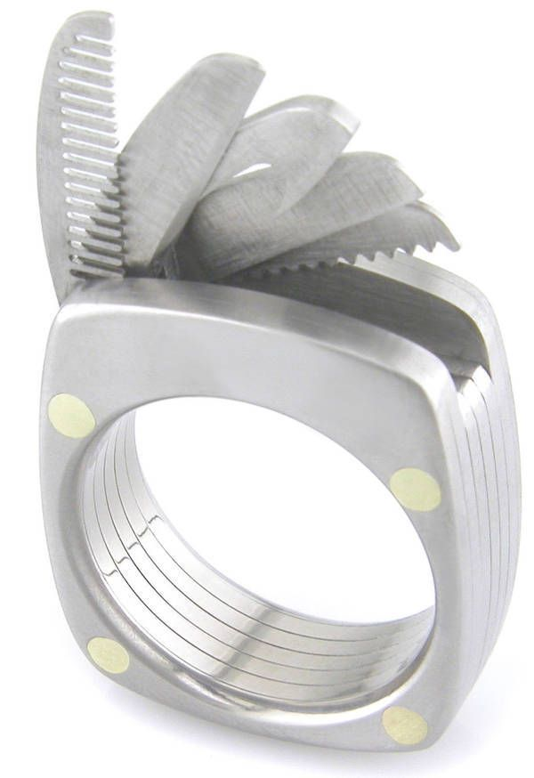 6fc3ba8edf8 Titanium multitool ring with five tools - Boing Boing