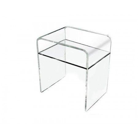 Comodino in plexiglass 33x33 h:45. Comodini in plexiglass ...