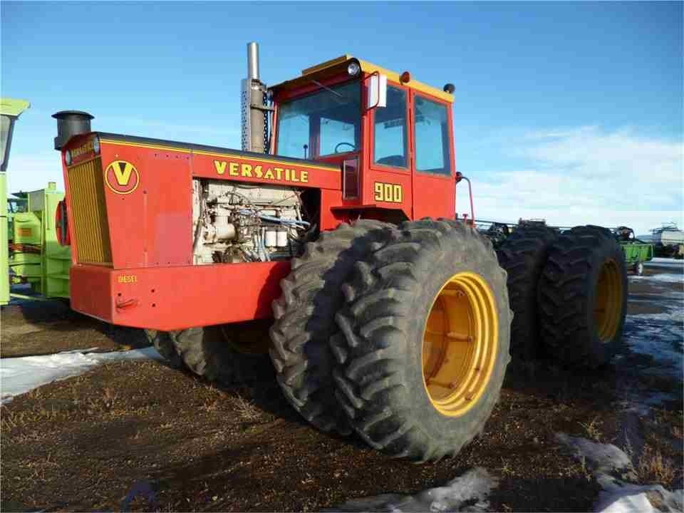 Versatile 900 Big Tractors Old Tractors Tractors