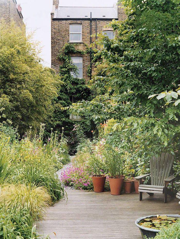 photo by James waddell for Domaine lush urban garden is part of Cottage garden, Outdoor gardens, Urban garden, City garden, Outdoor garden, Patio garden - Interior Design, Furniture, Inspiring Ideas