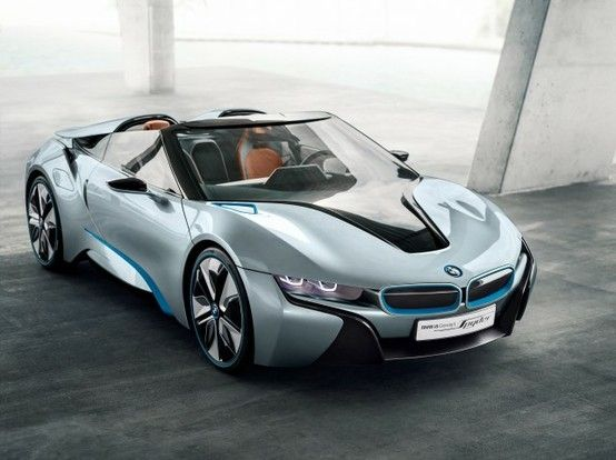 The BMW i8 Concept Spyder! More pics on the site!