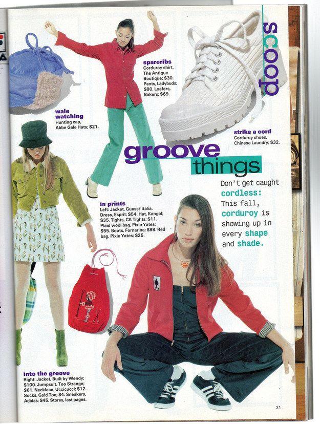 Teen girl clothing magazine